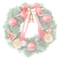 クリスマス・リース画像